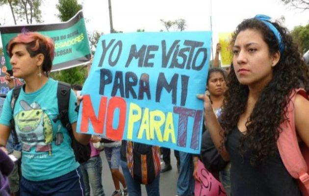 feminismo, acoso callejero,