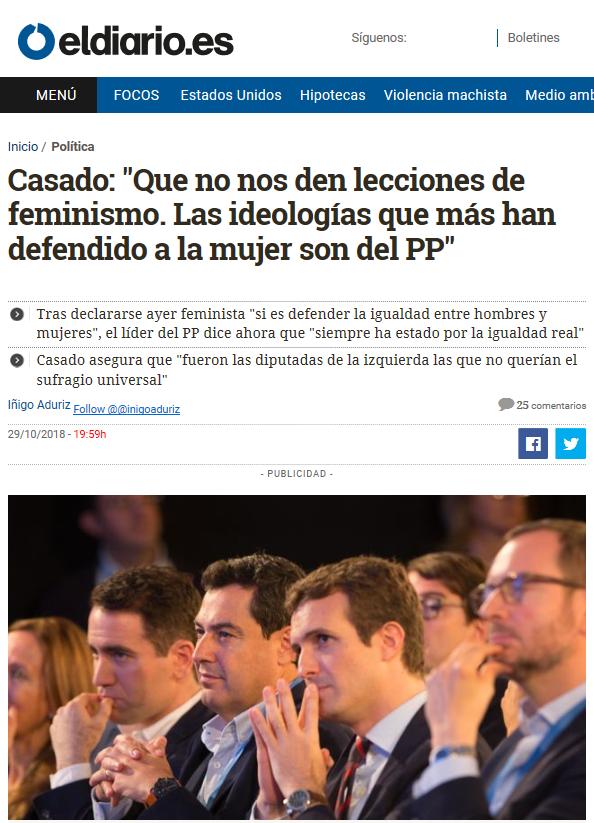 machismo en política
