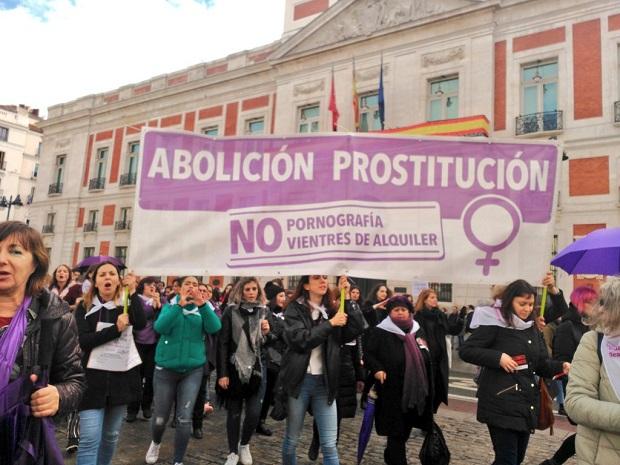 mujeres en lucha, prostitucion, feminismo, abolicion,