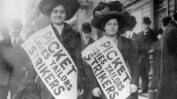 feminismo, historia, 8 de marzo, incendio, camisas, trabajadoras, derechos, huelga, zetkin