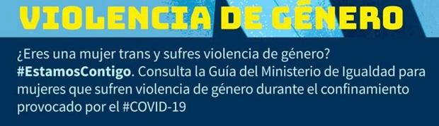 mujeres en lucha, feminismo, trans, ministerio igualdad, violencia de genero, covid, coronavirus, pandemia, aumento violencia, genero, opresion