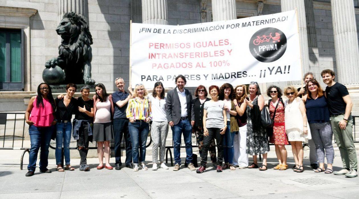 mujeres en lucha, feminismo, maternidad, permisos, paternidad, embarazo, crianza, propuesta de ley, hijos