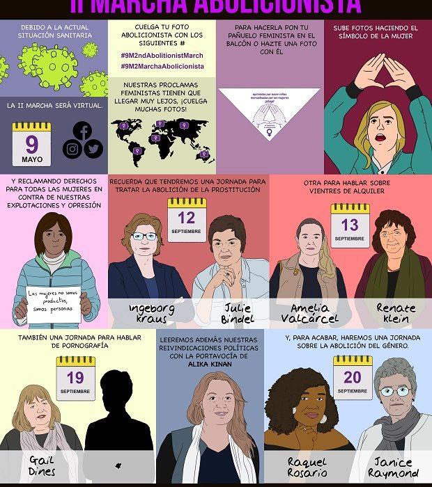 feminismo, mujeres en lucha, abolicion, mujeres por la abolicion, abolicionismo, marcha abolicionista. genero, prostitucion, vientres de alquiler, ponentes, congreso